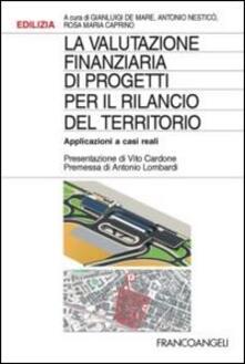 La valutazione finanziaria dei progetti per il rilancio del territorio. Applicazioni a casi reali - copertina