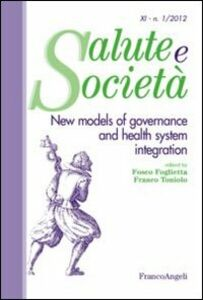 Libro New models of governance and health system integration
