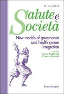 New models of governance and health system integration - copertina