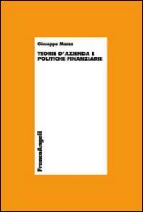 Libro Teoria d'azienda e politiche finanziarie Giuseppe Marzo