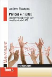 Equilibrifestival.it Persone e risultati. Tradurre il sapere in fare con il metodo Lam Image