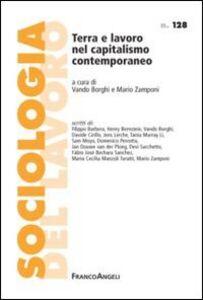 Libro Terra e lavoro nel capitalismo contemporaneo