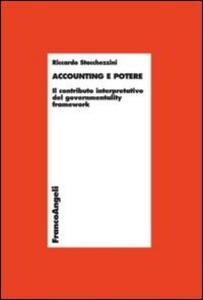Accounting e potere. Il contributo interpretativo del governmentality framework