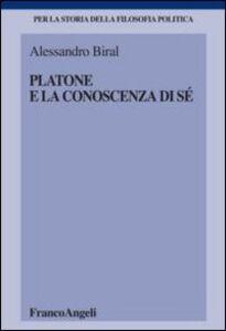 Libro Platone e la conoscenza di sé Alessandro Biral
