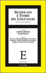 Libro Significato e teorie del linguaggio