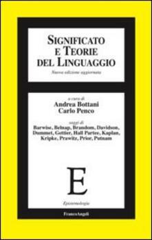 Lpgcsostenible.es Significato e teorie del linguaggio Image