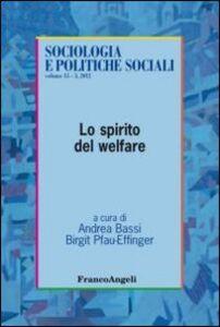 Libro Lo spirito del welfare