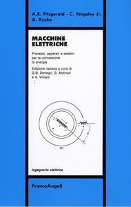 Libro Macchine elettriche A. E. Fitzgerald , C. jr. Kinsley , A. Kusko