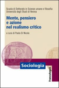 Libro Mente, pensiero e azione nel realismo critico