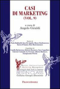 Libro Casi di marketing. Vol. 9