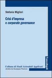 Crisi d'impresa e corporate governance