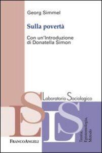 Libro Sulla povertà Georg Simmel