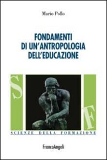 Voluntariadobaleares2014.es Fondamenti di un'antropologia dell'educazione Image