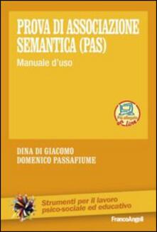 Steamcon.it Prova di associazione semantica (PAS). Manuale d'uso Image