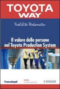 Libro Il valore delle persone nel Toyota Production System Yoshihito Wakamatsu