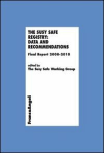 Libro The Susy Safe registry: data and recommendations. Final Report 2008-2010
