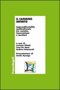 Foto Cover di Il cammino infinito. Imprenditorialità multiculturale tra varietà, innovazione e territori, Libro di  edito da Franco Angeli