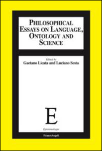 Libro Philosophical essays on language, ontology and science