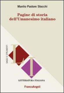 Pagine di storia dellUmanesimo italiano.pdf