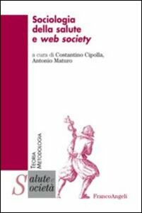 Libro Sociologia della salute e web society