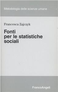 Fonti per le statistiche sociali
