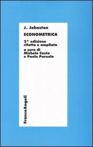 Libro Econometrica J. Johnston