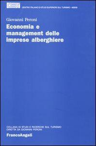 Economia e management delle imprese alberghiere