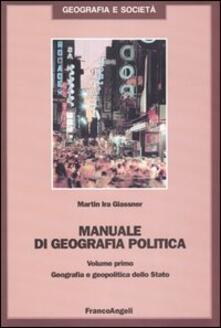 Lpgcsostenible.es Manuale di geografia politica. Vol. 1: Geografia e geopolitica dello Stato. Image