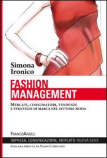 Cocktaillab.it Fashion management. Mercati, consumatori, tendenze e strategie di marca nel settore moda Image