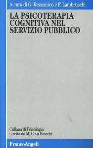 Libro La psicoterapia cognitiva nel servizio pubblico