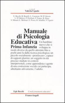 Promoartpalermo.it Manuale di psicologia educativa. Prima infanzia Image