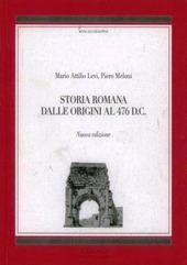 Storia romana dalle origini al 476 d. C.