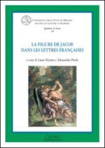 Libro La figure de Jacob dans les letteres françaises