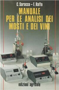 Manuale per le analisi dei mosti e dei vini
