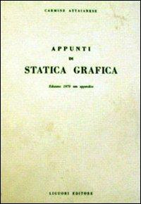 Appunti di statica grafica