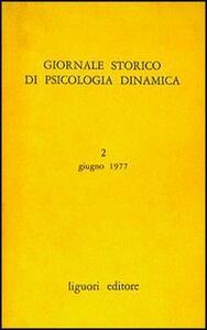 Giornale storico di psicologia dinamica. Vol. 1