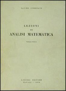 Lezioni di analisi matematica. Vol. 1