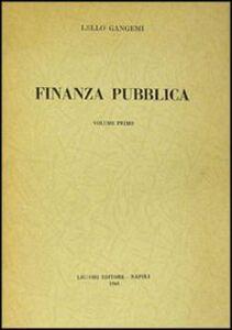 Finanza pubblica. Vol. 1