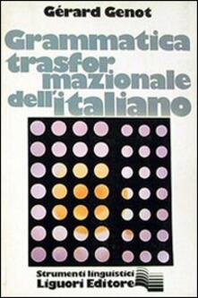 Amatigota.it Grammatica trasformazionale dell'italiano Image