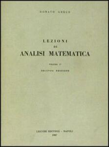 Lezioni di analisi matematica I