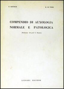 Compendio di auxologia normale e patologica