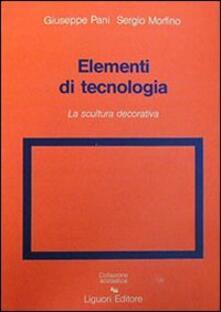 Elementi di tecnologia. Vol. 2: La scultura decorativa.