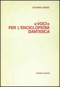 Voci per l'Enciclopedia dantesca