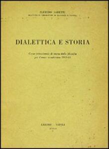 Dialettica e storia