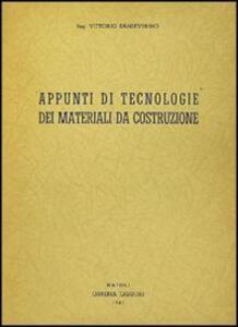 Appunti di tecnologia dei materiali da costruzione