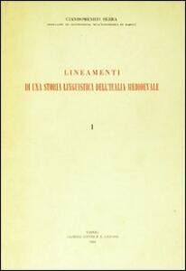 Lineamenti di una storia linguistica dell'Italia medioevale. Vol. 2