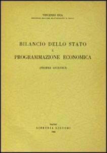 Bilancio dello Stato e programmazione economica