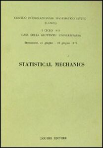 Libro Statistical mechanics