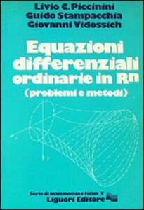 Equazioni differenziali ordinarie in RN (problemi e metodi)