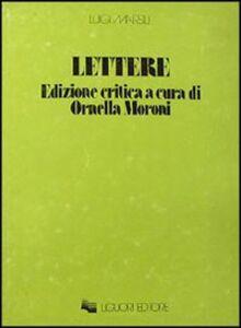 Libro Lettere Luigi Marsili